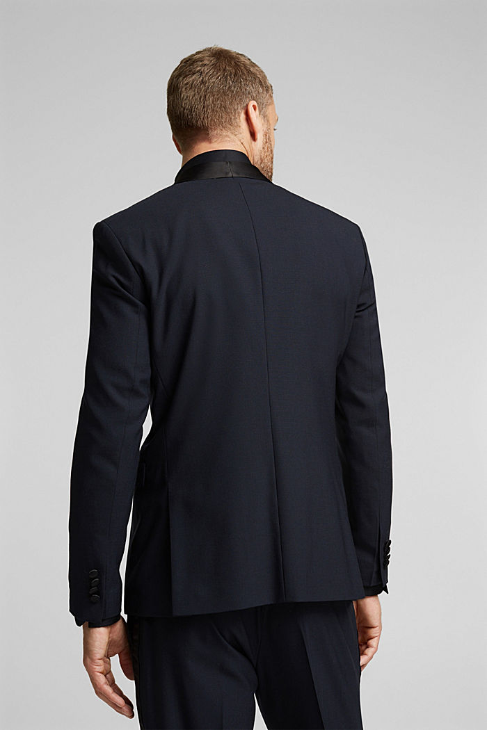 ACTIVE JOGG SUIT dinner jacket made of blended wool, DARK BLUE, detail image number 3