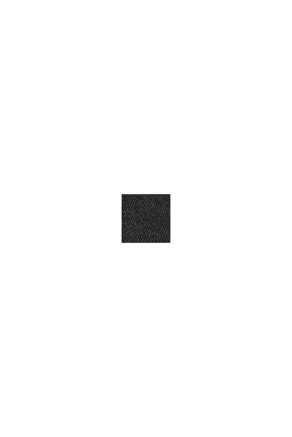 Highrise stretchjeans van een modalmix, BLACK RINSE, swatch