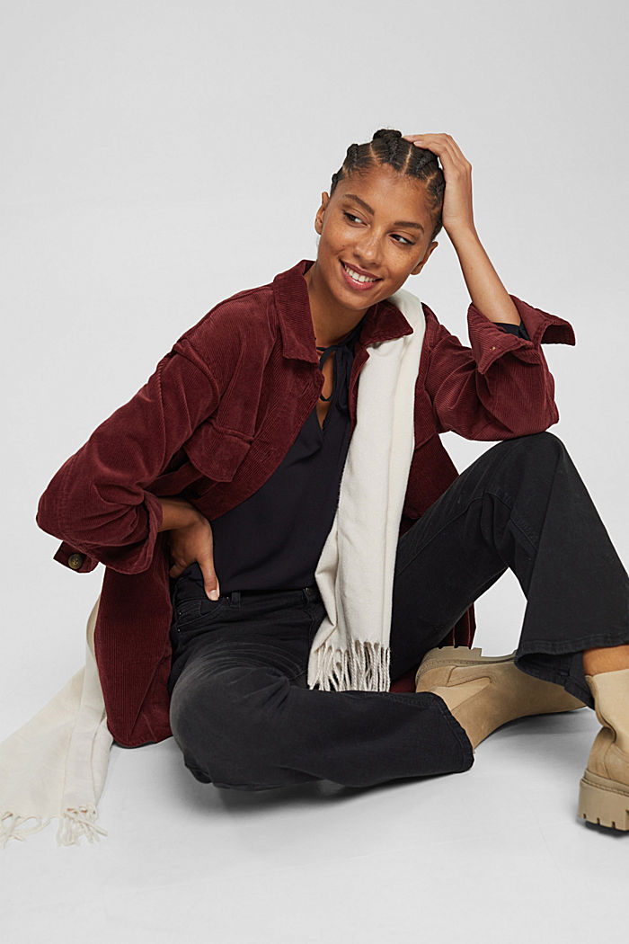Crêpe blouse van LENZING™ ECOVERO™