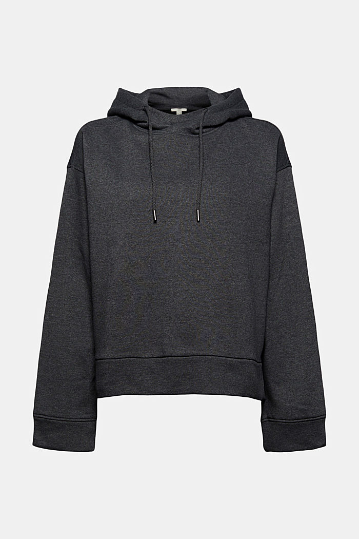 Hoodie made of organic blended cotton
