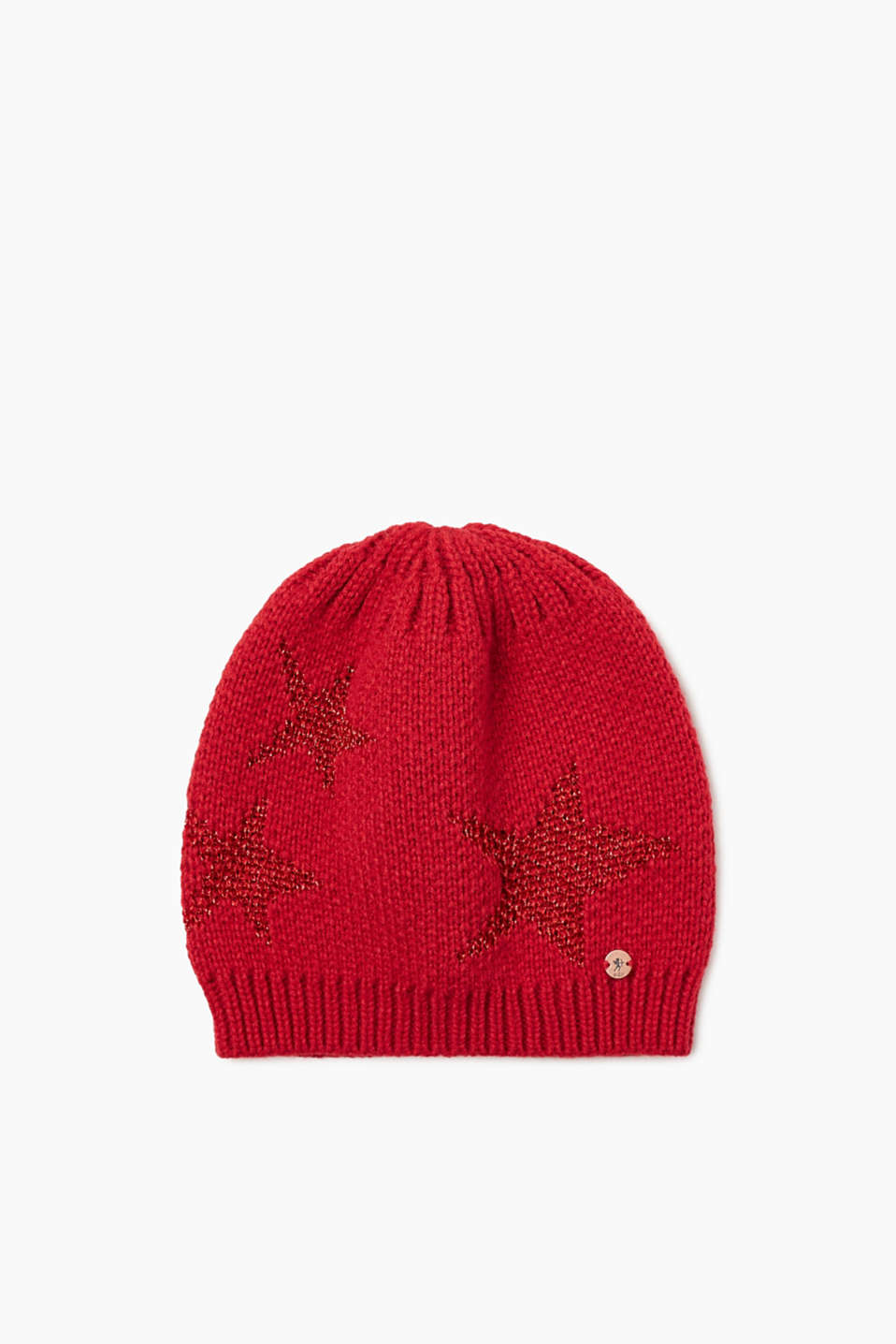 We love knitwear! The shimmering stars makes this beanie extremely eye-catching.