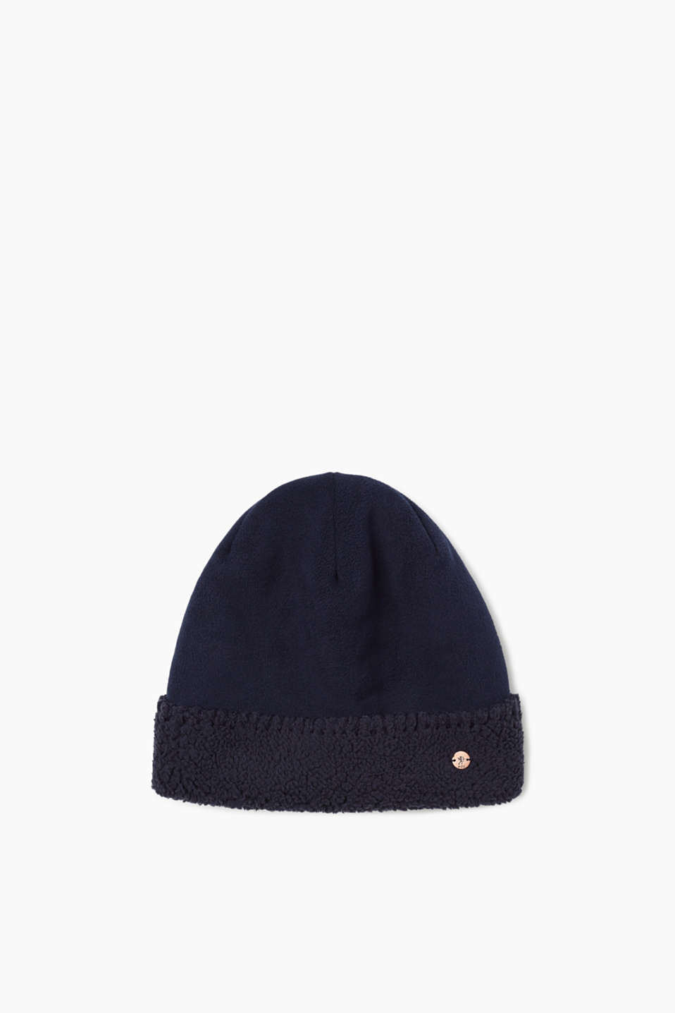 edc - Hat in a teddy fleece