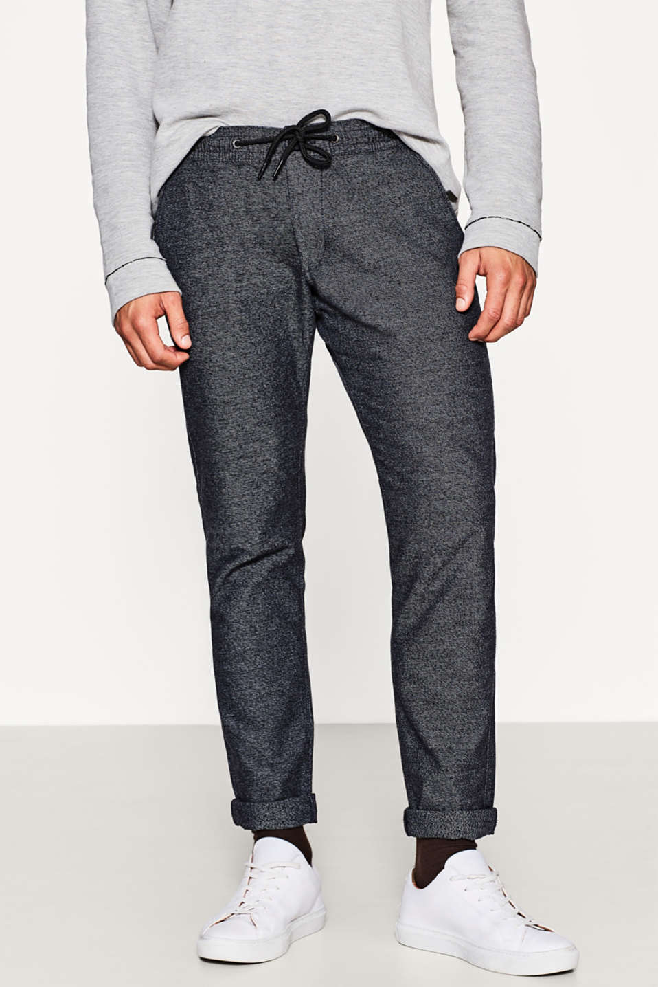 edc - Pantalon de jogging en coton stretch