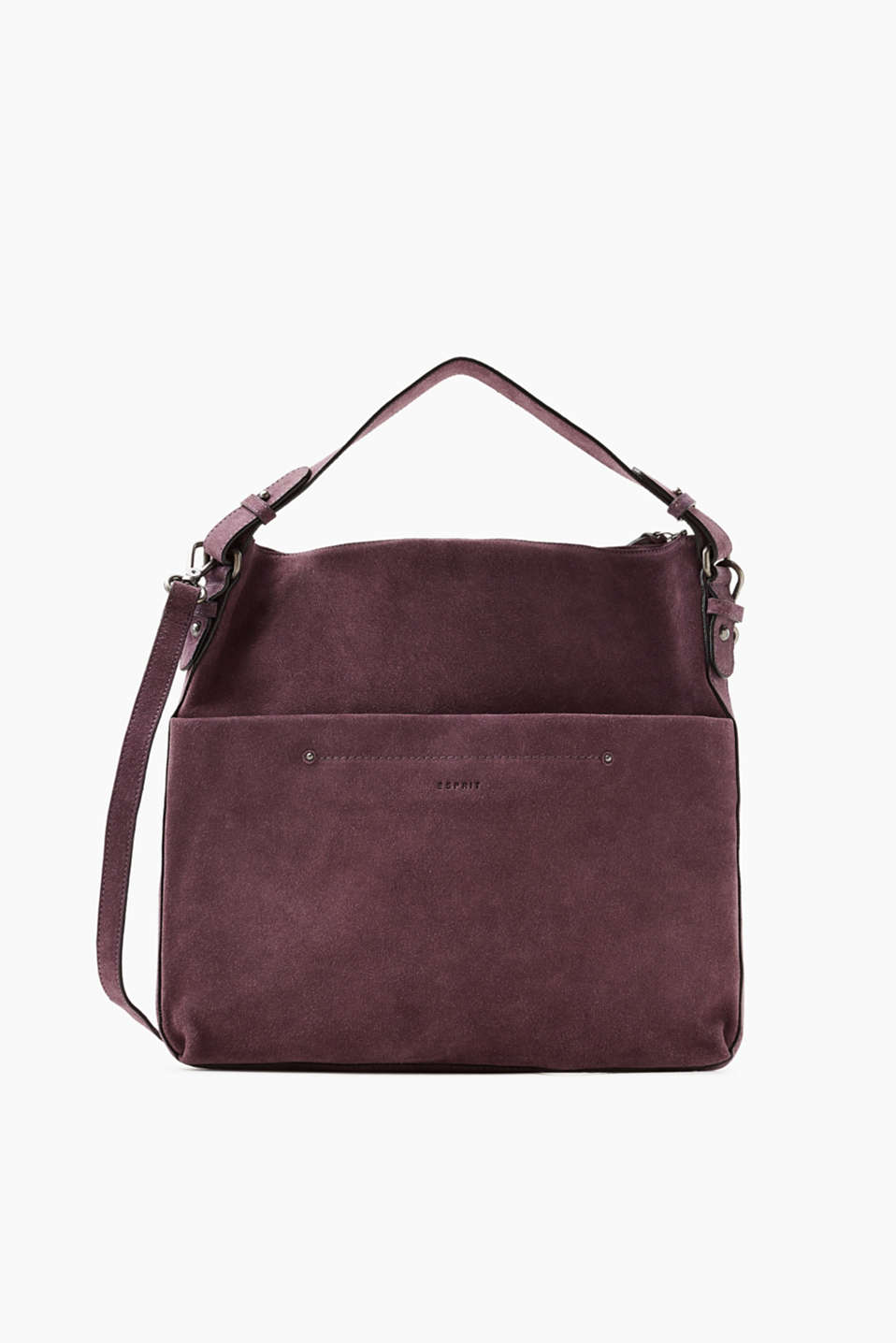 A timeless everyday accessory! This hobo bag is made of fine suede and boasts trendy colour nuances.
