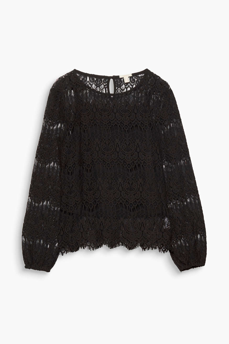 Made from ornamental lace with an integrated top, this long sleeve top is stylish and extremely comfortable!