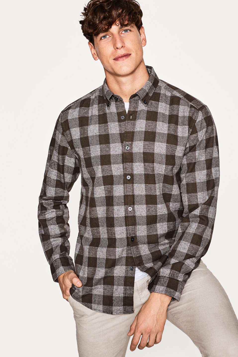 Esprit - 100% cotton rustic shirt