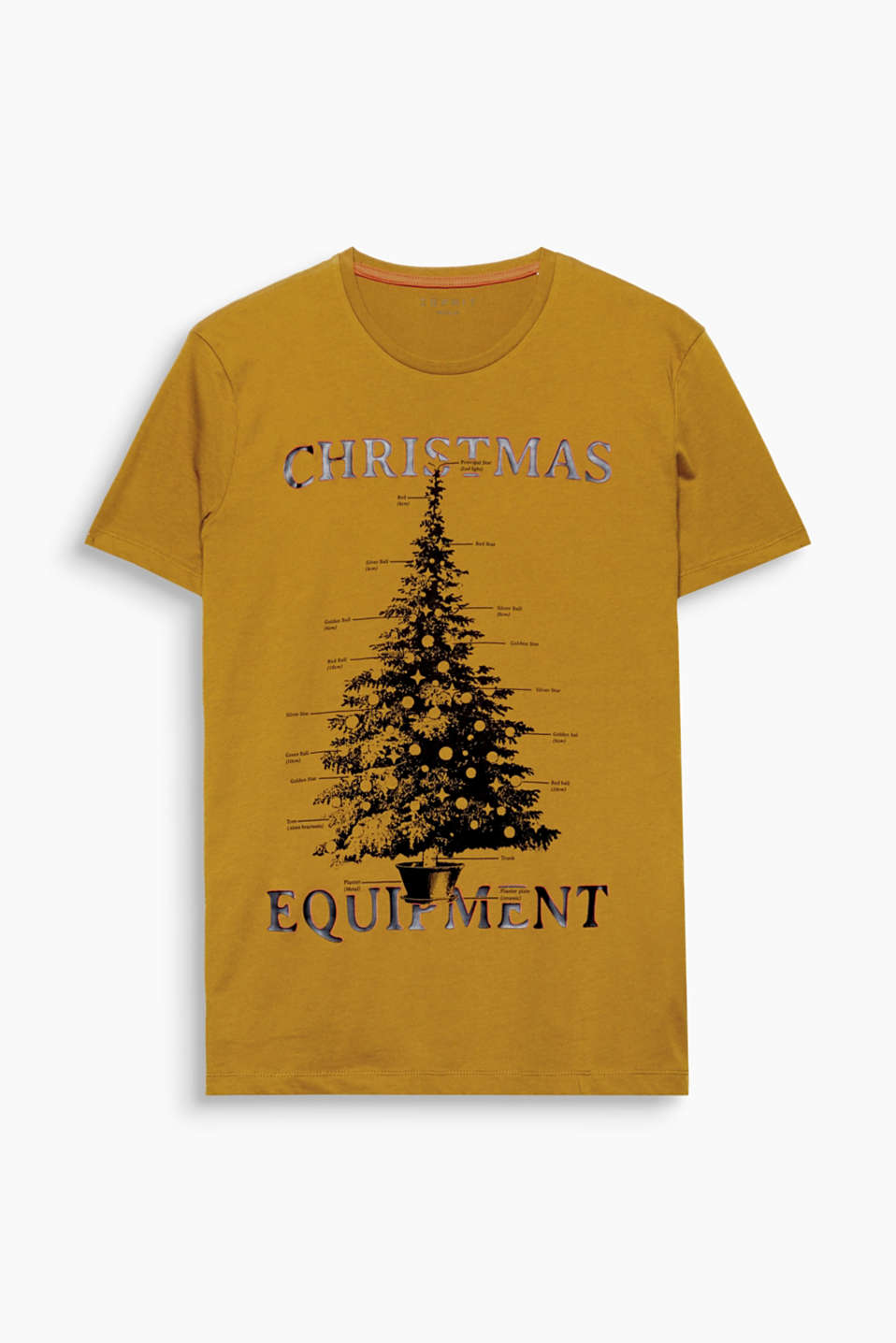 Ho ho ho! You will love this T-shirt thanks to its atmospheric Christmas print.