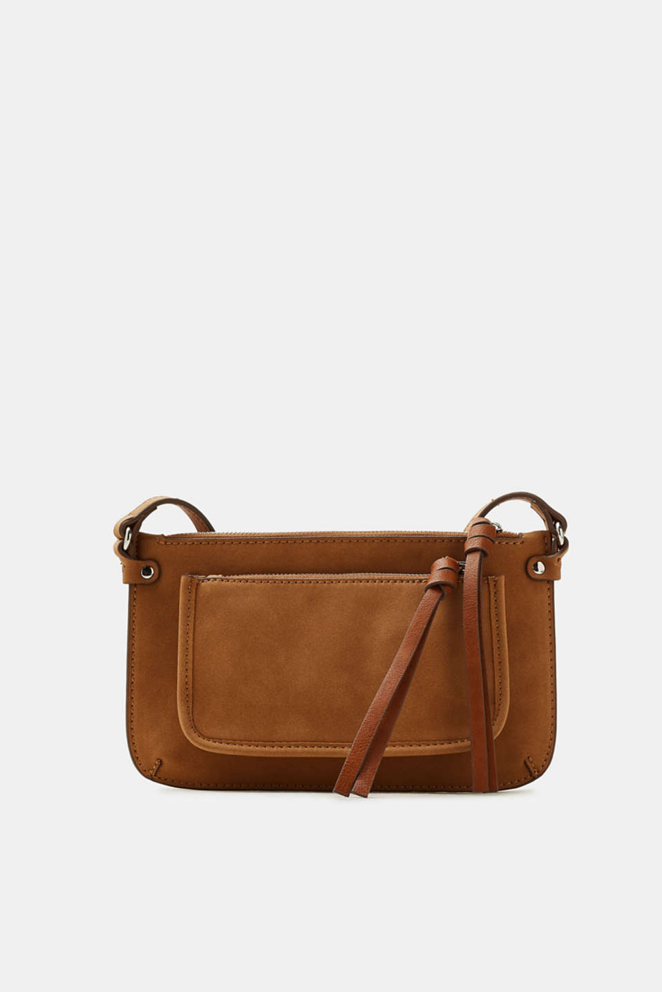 edc - Flat shoulder bag in faux leather