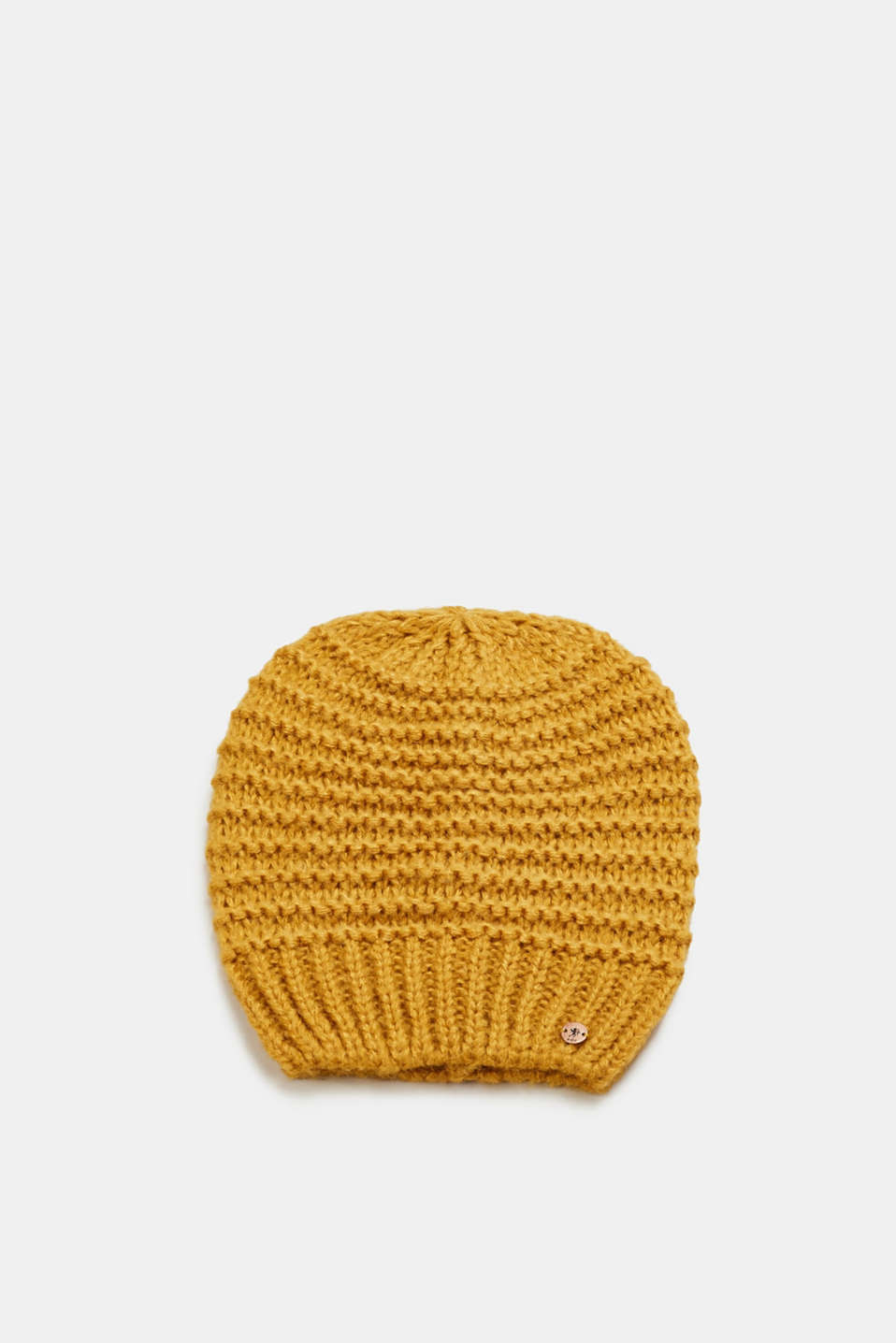 edc - Beanie with textured stripes