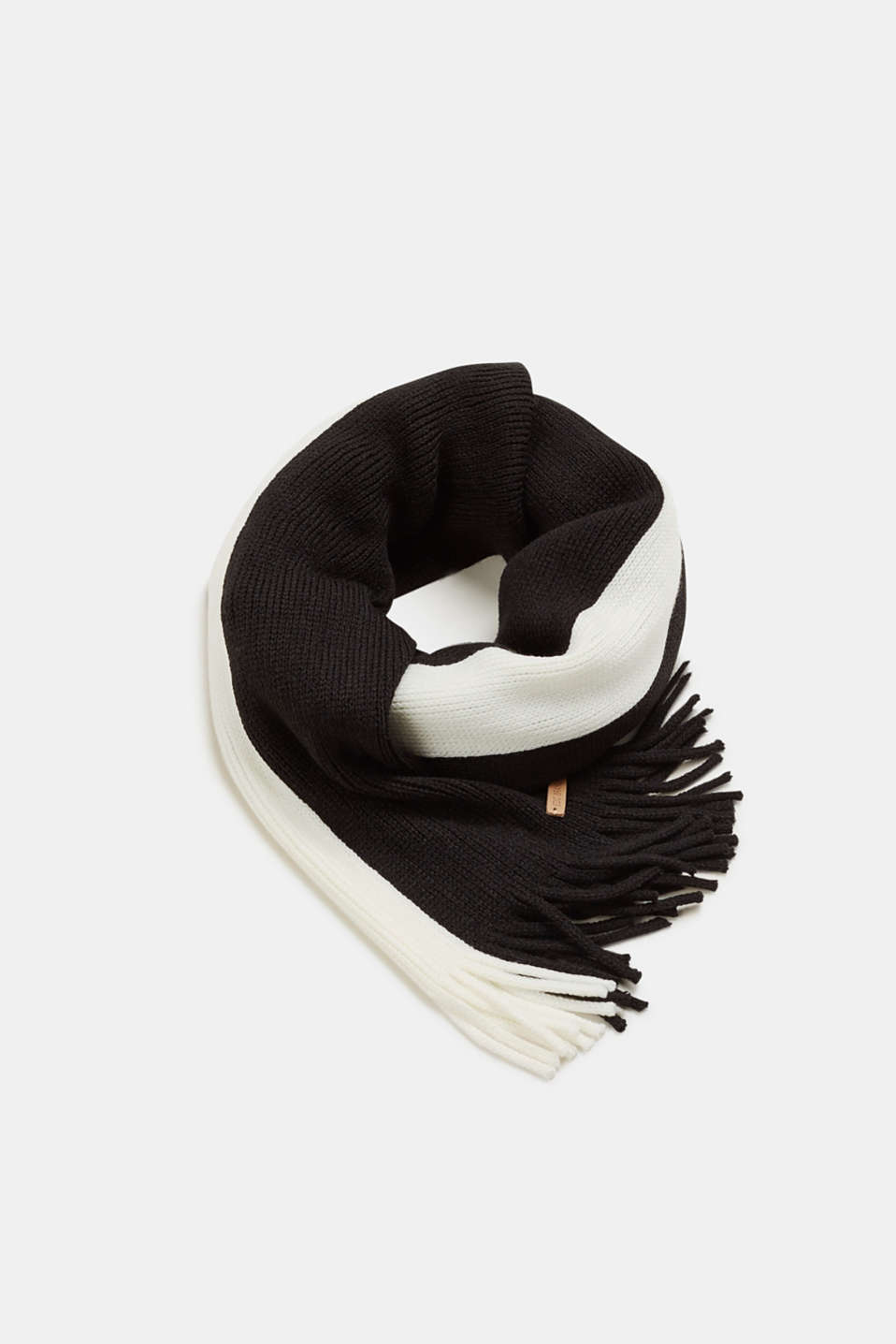 edc - Black/white scarf