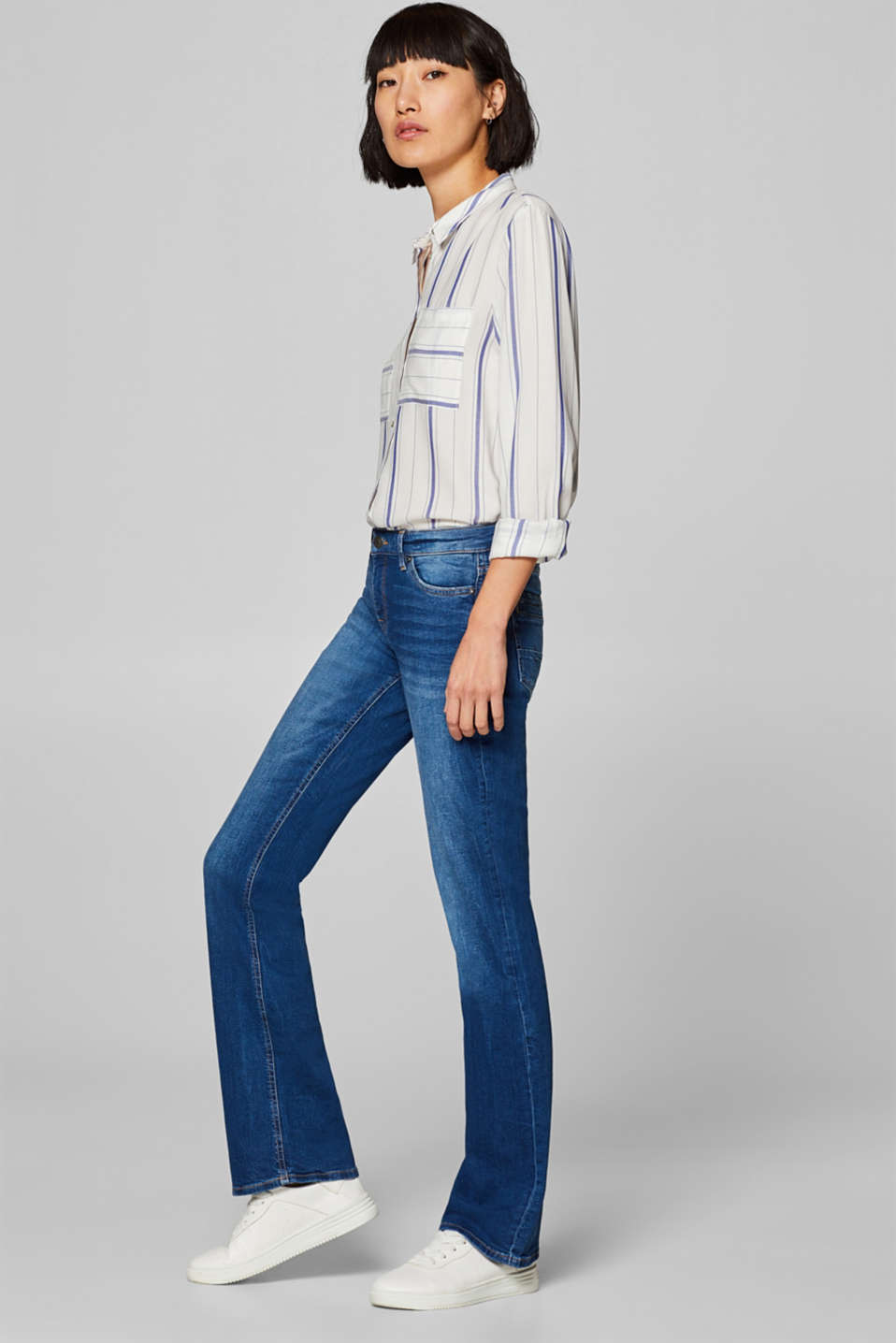edc - Stretch bootcut jeans and stylish pockets