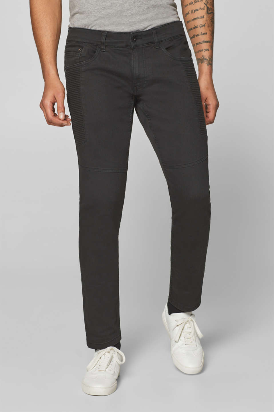 edc - Super stretch biker-style jeans