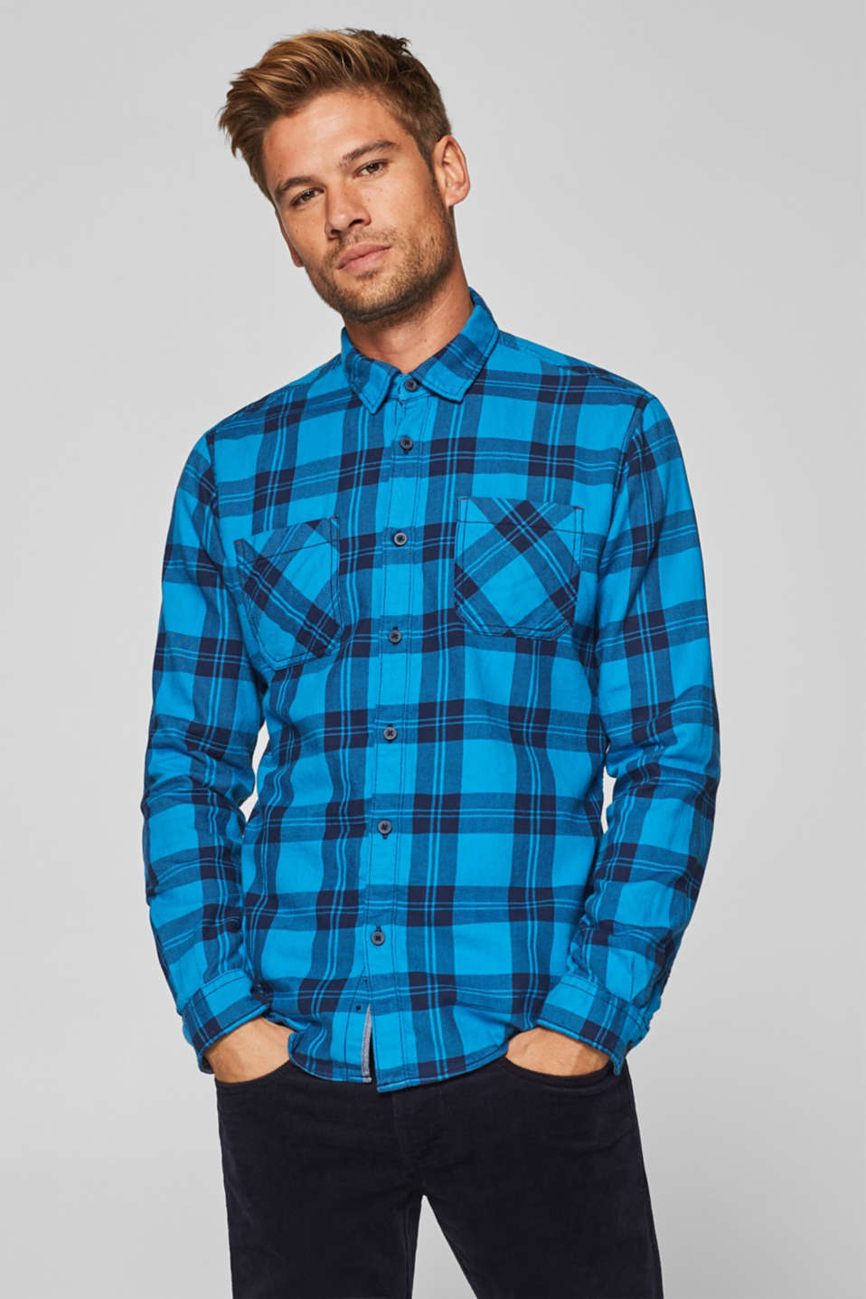 edc - Check shirt in 100% cotton