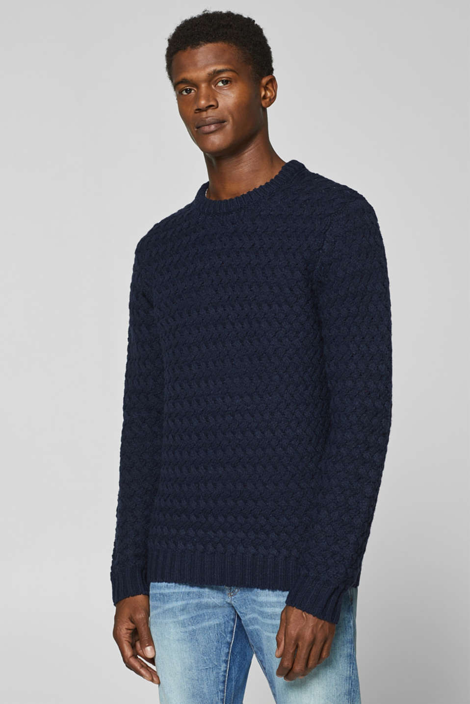 edc - With wool: chunky knit jumper