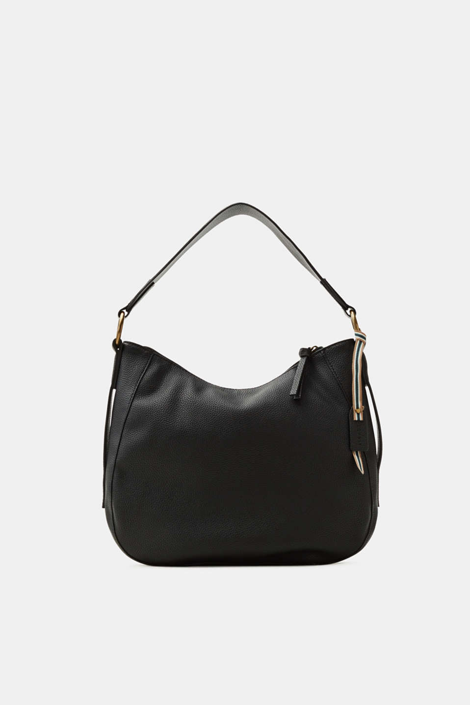 Esprit - Faux leather hobo bag