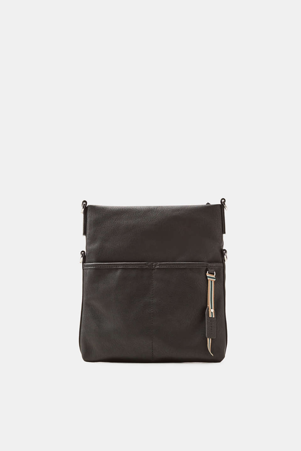 Esprit - Adjustable faux leather shoulder bag