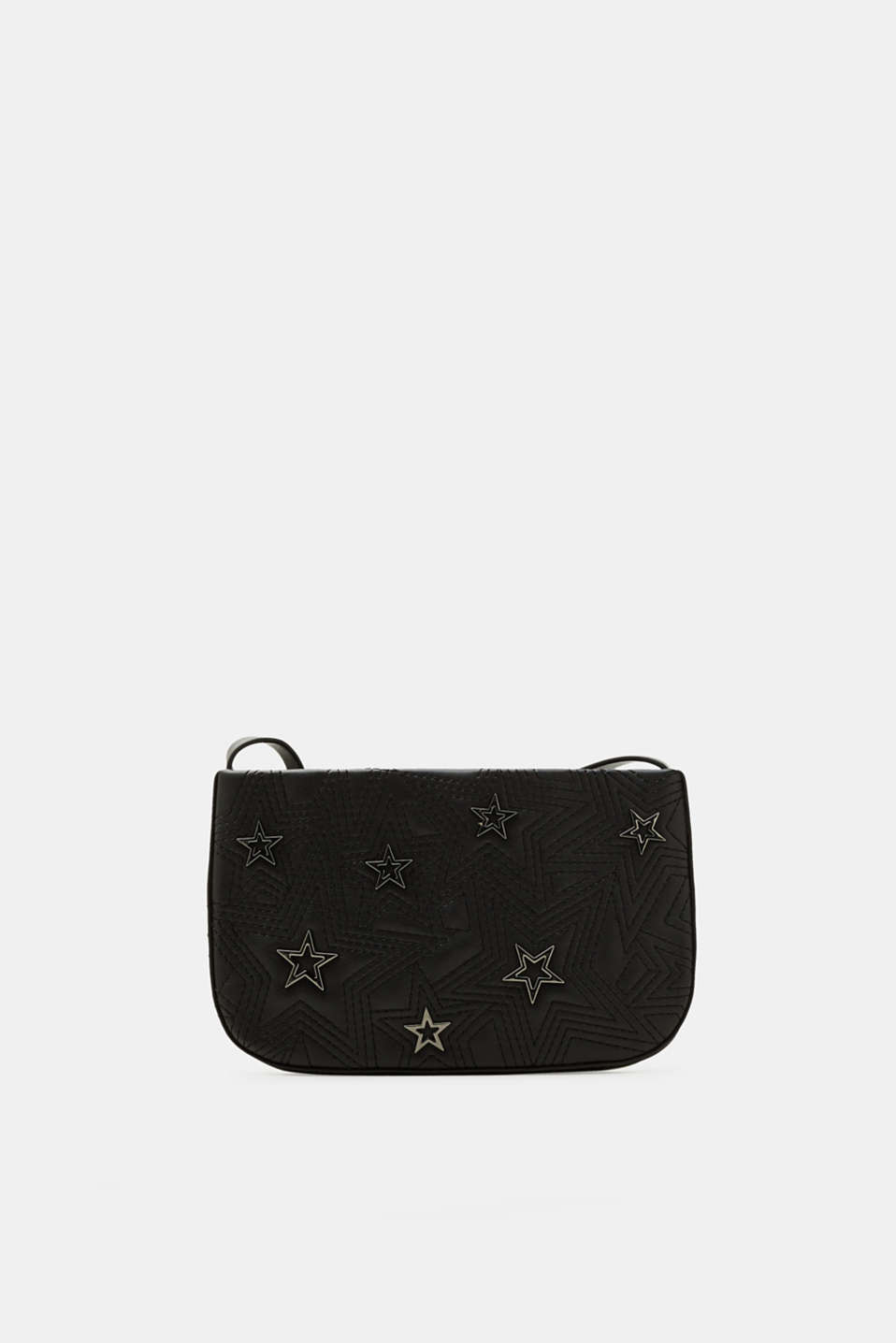 Esprit - Small shoulder pocket with star studs
