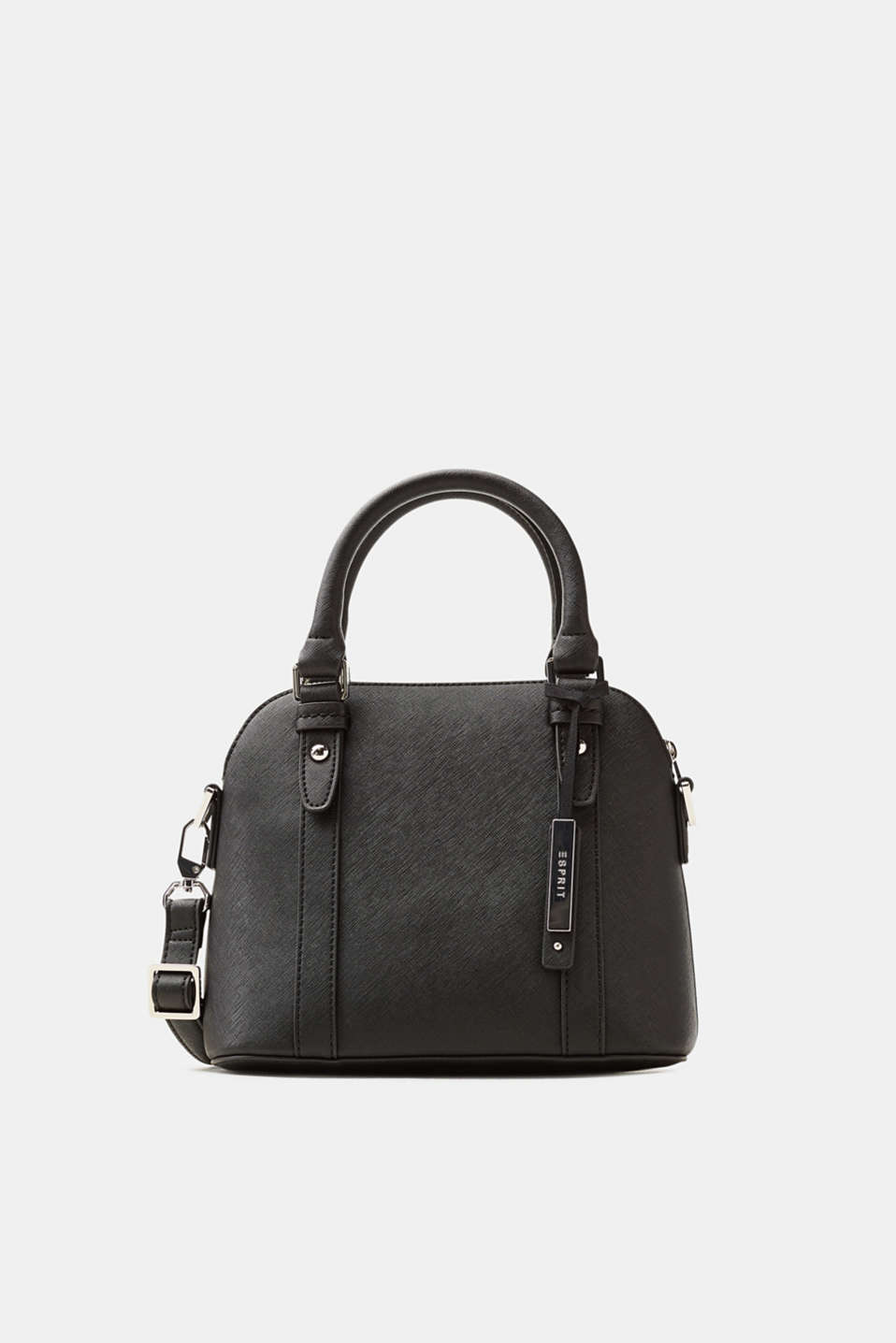 Esprit - Small handbag made of textured faux leather