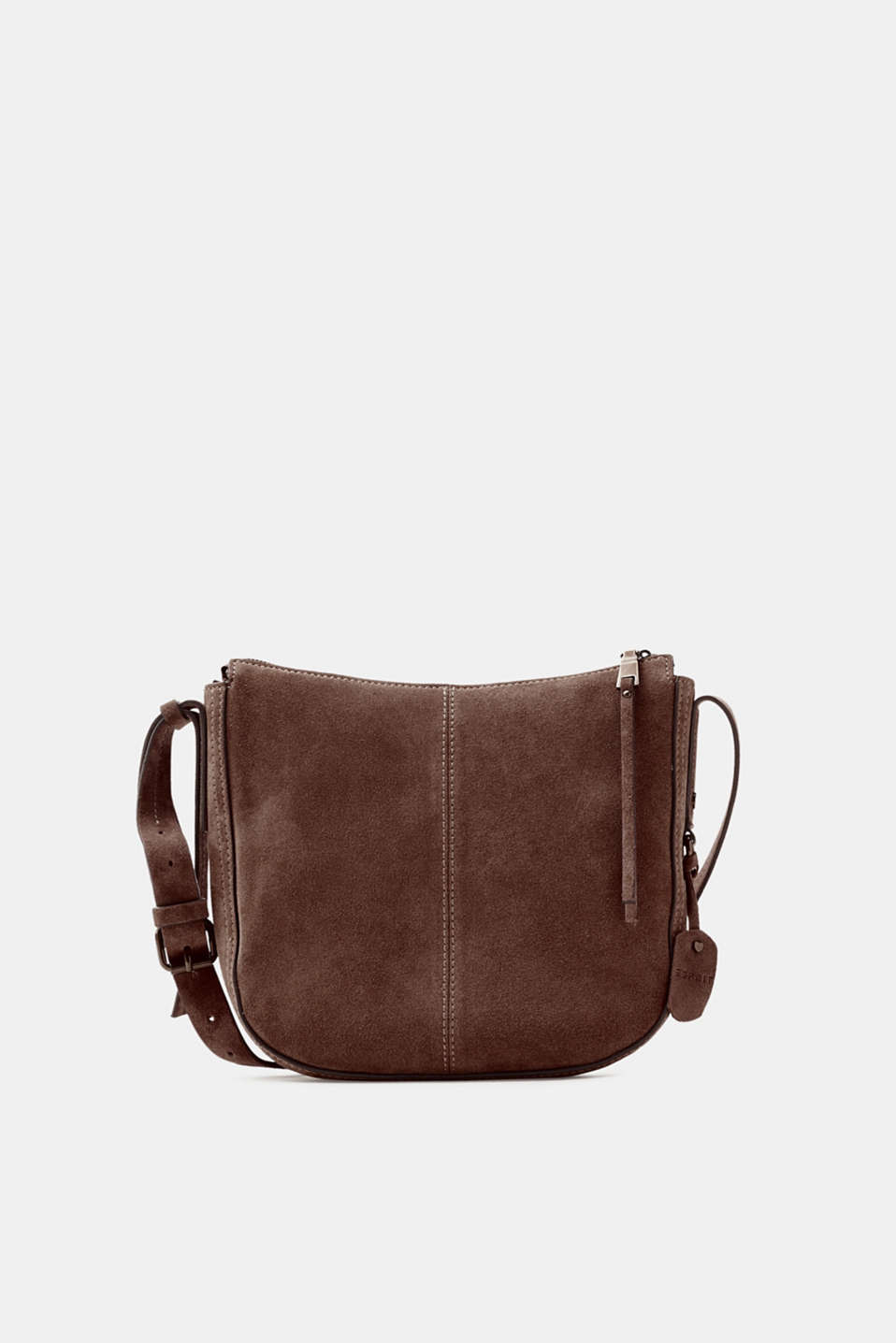 Esprit - Suede shoulder bag