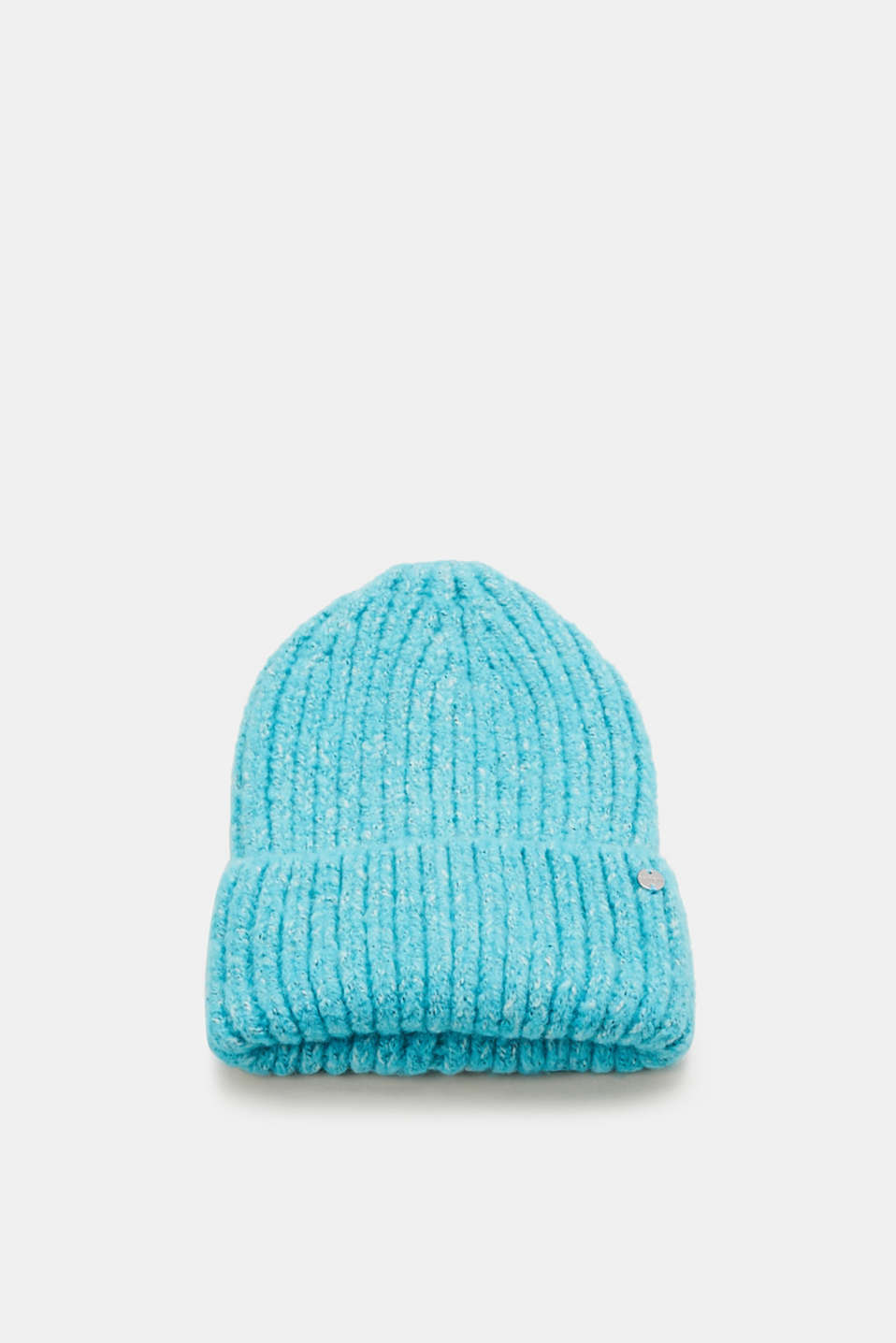Esprit - Chunky-knit beanie with a turn-back border