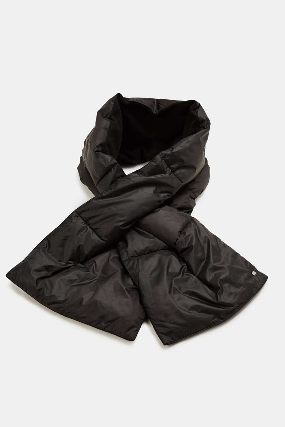Esprit - Fleece-lined quilted scarf