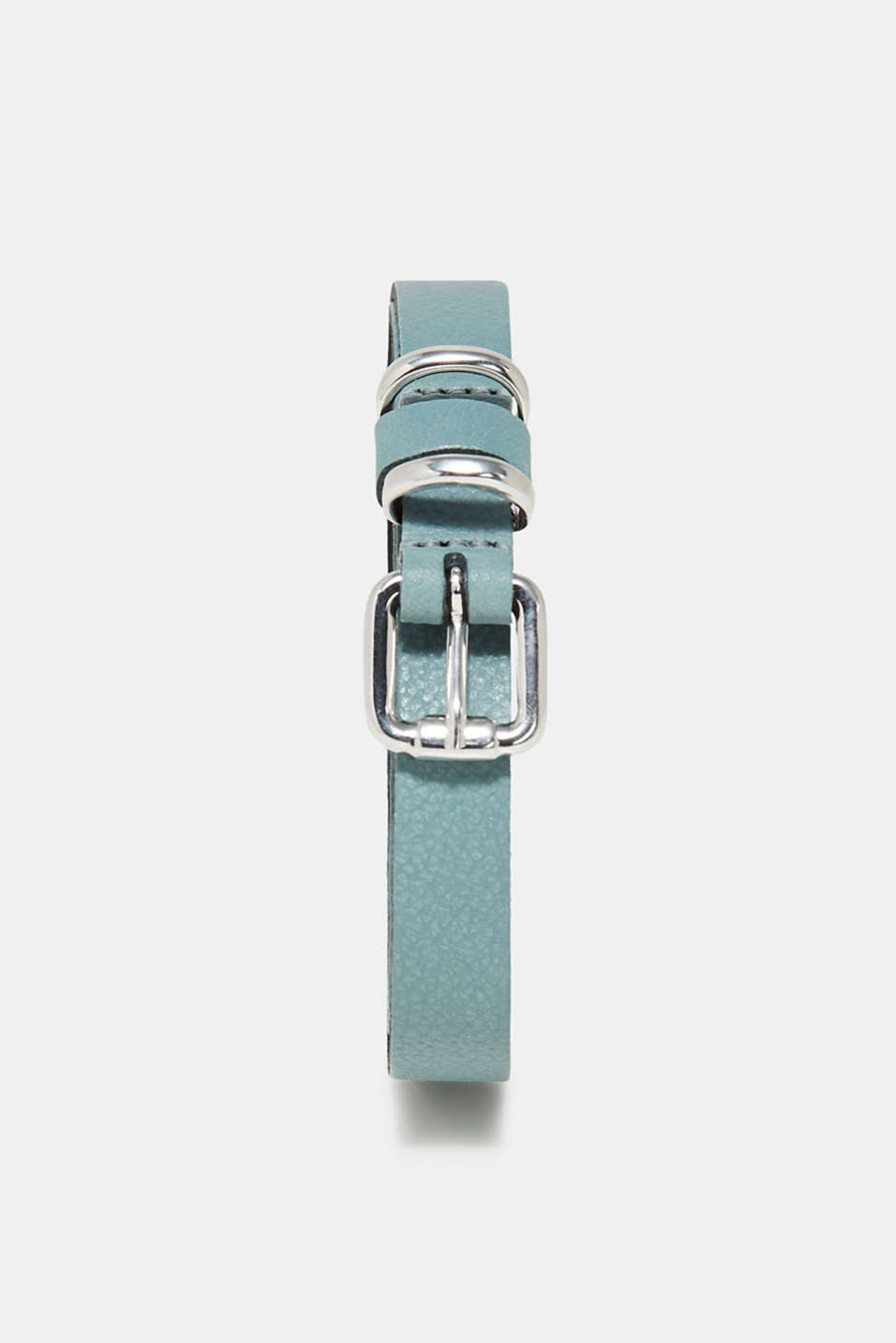 Esprit - Thin leather belt with a fine grain