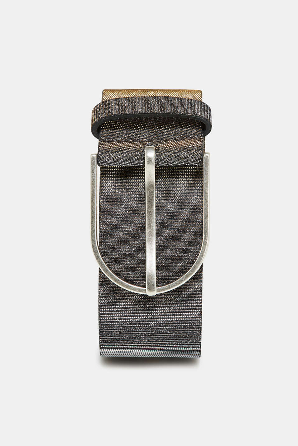 Esprit - Wide textured metallic belt