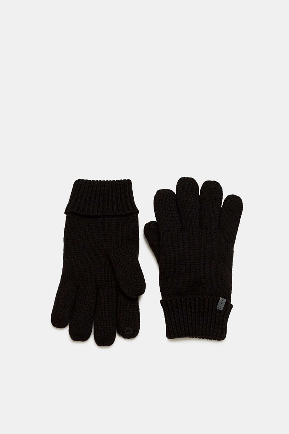 Esprit - Touchscreen gloves with wool