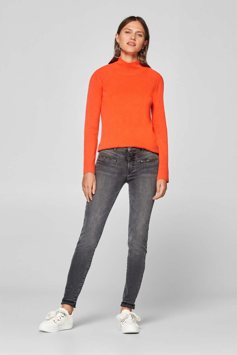 Esprit - Shaping jeans with zips