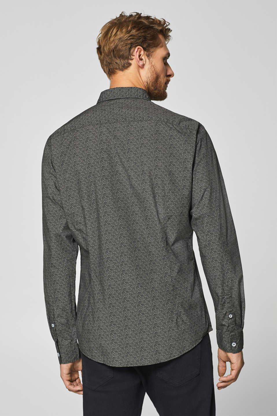 Shirts woven, DARK GREY, detail image number 3