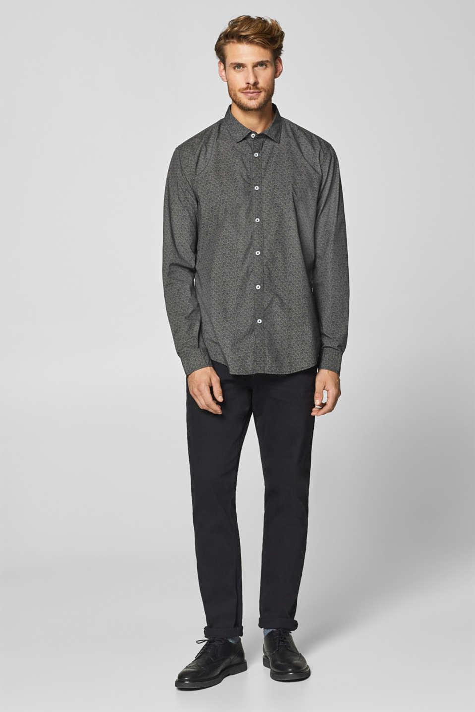 Shirts woven, DARK GREY, detail image number 5