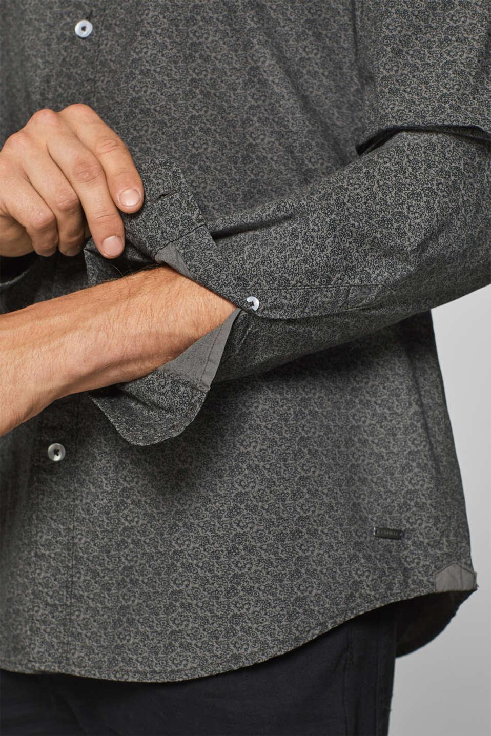 Shirts woven, DARK GREY, detail image number 2