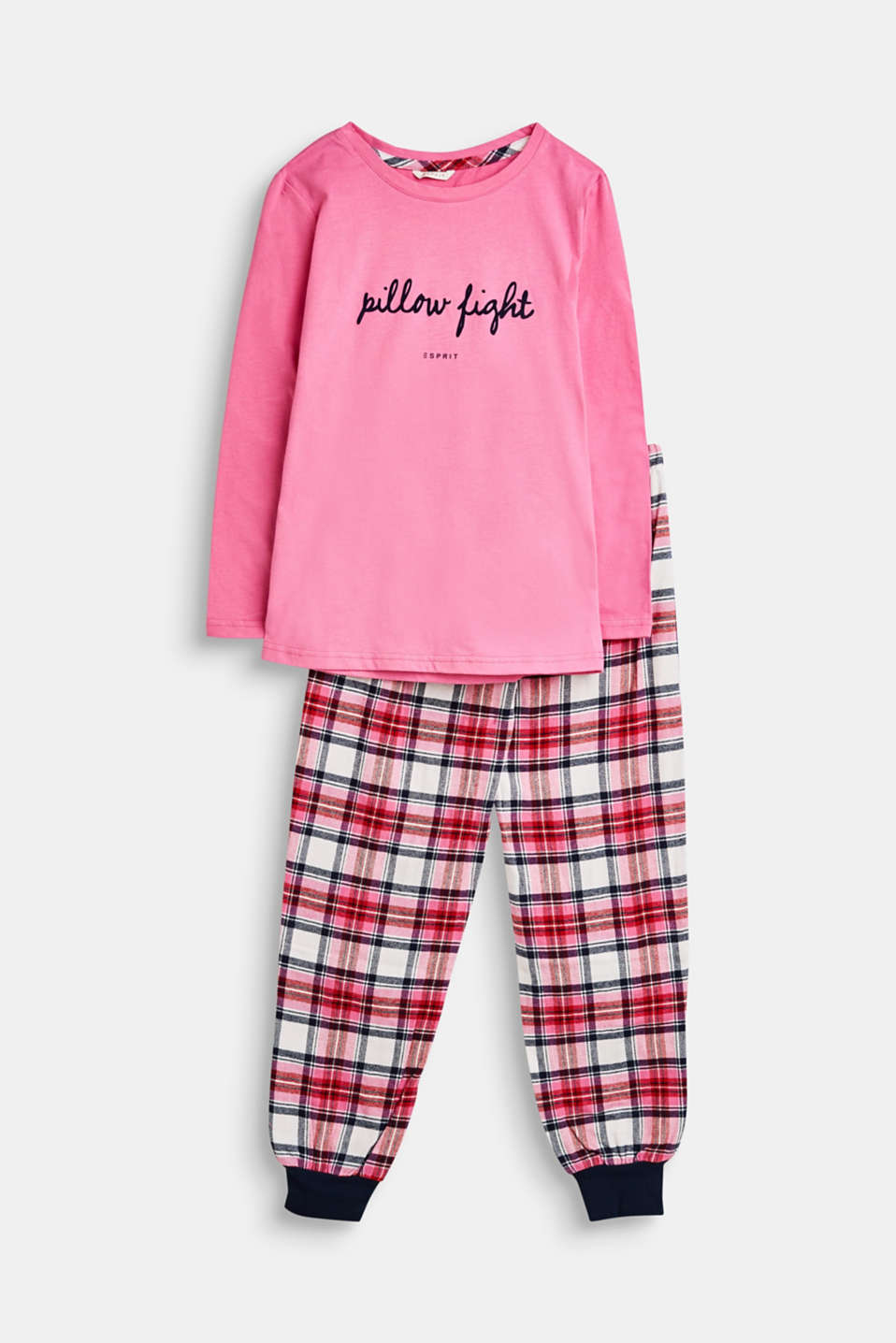 Esprit - Pyjamas with flannel bottoms