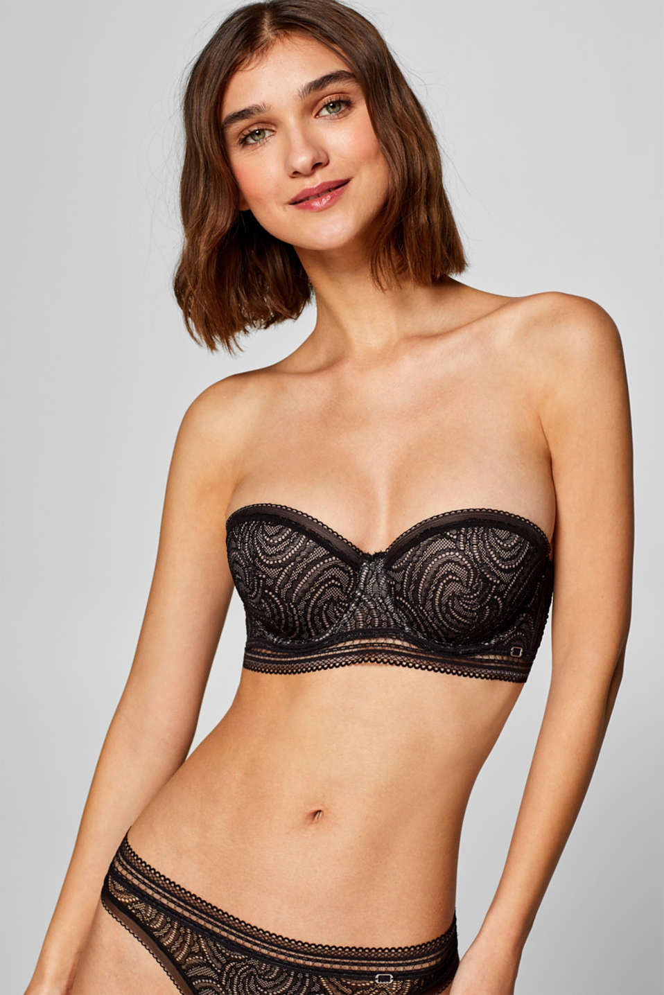Esprit - NYE padded underwire bra with detachable straps