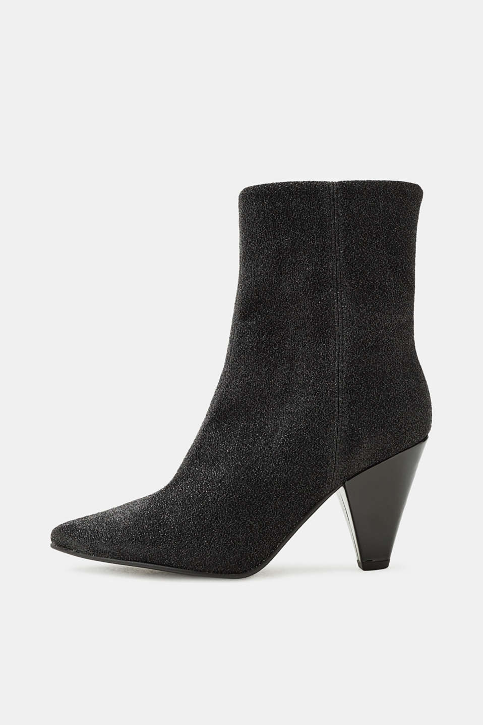 Esprit - Glitter boots with funnel heel
