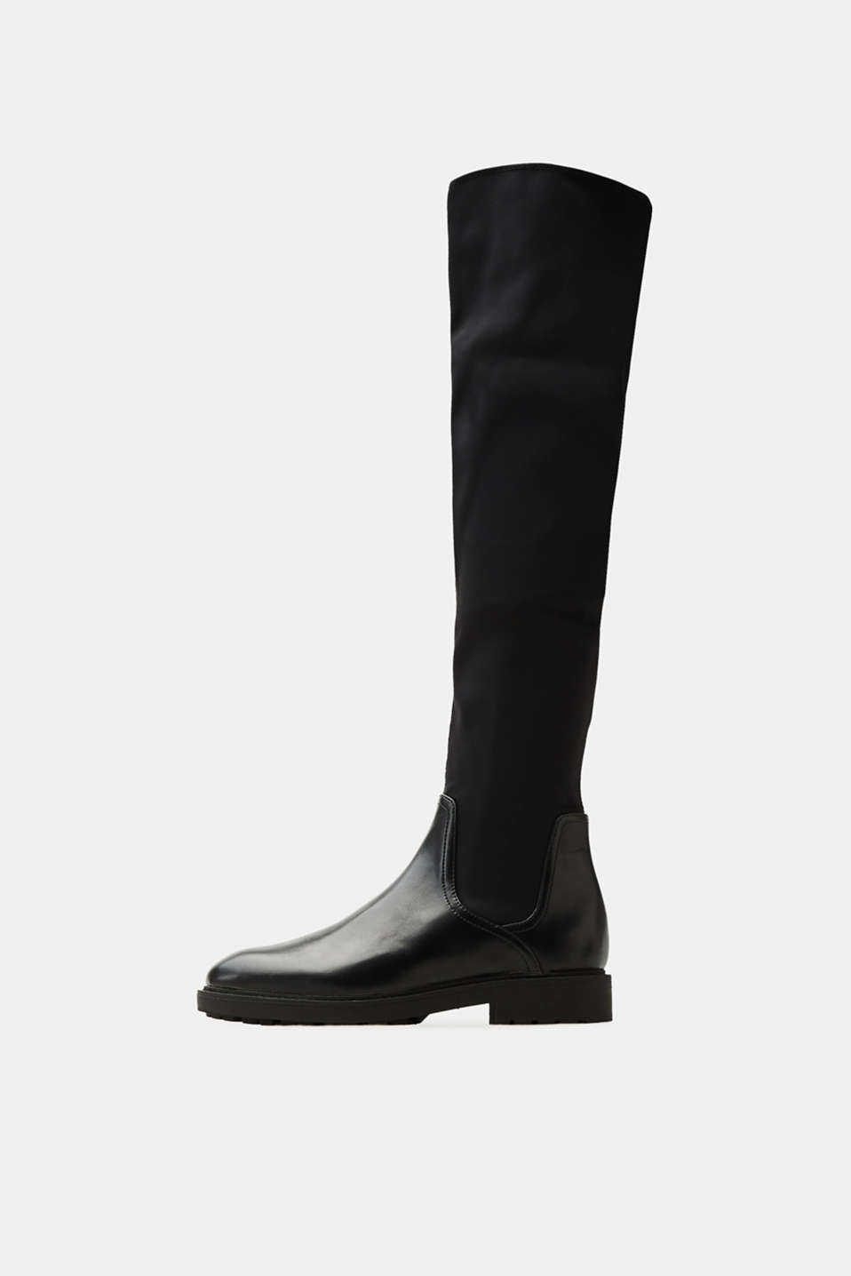 Esprit - Over the knee boots with a stretchy shaft