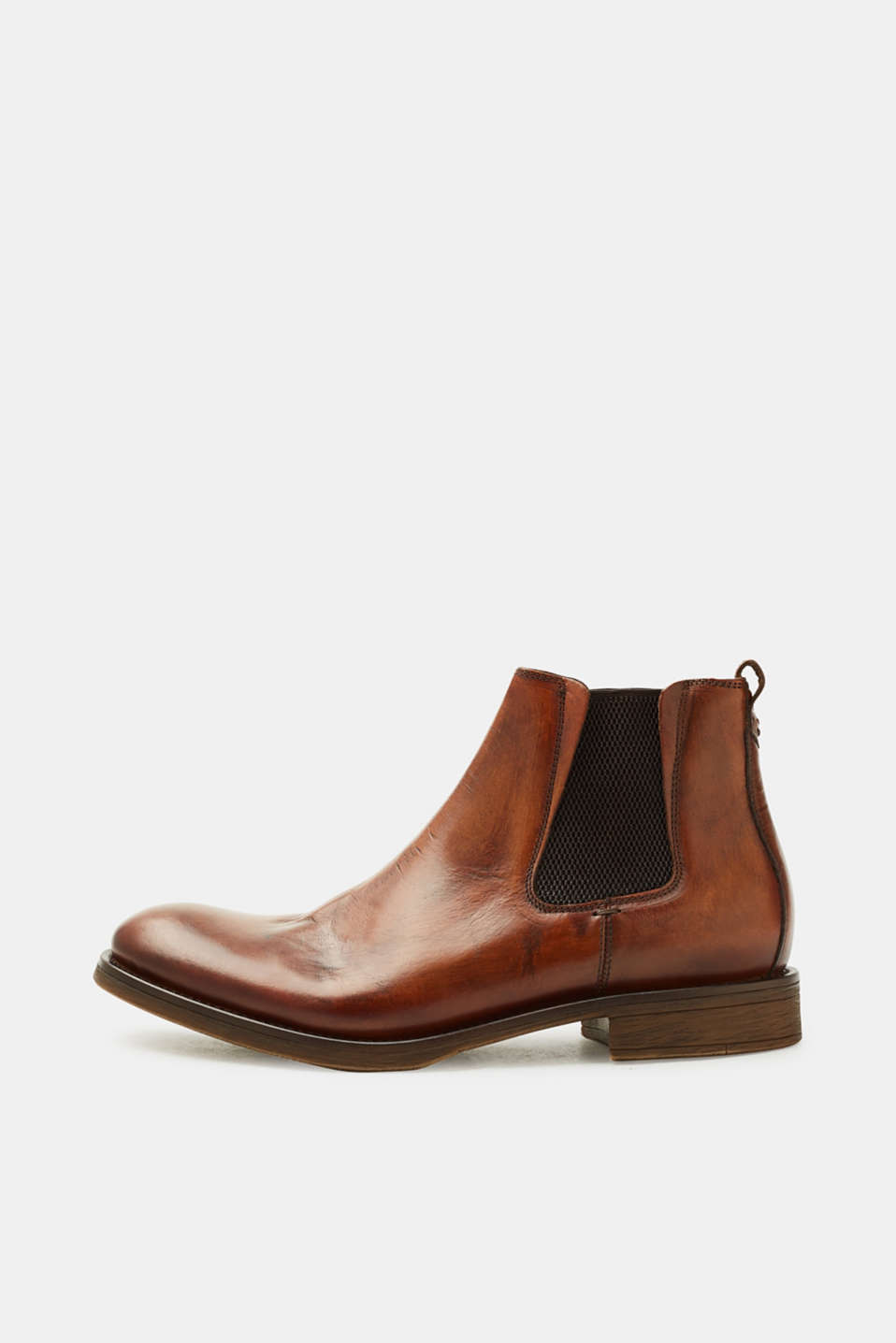 Esprit - Leather Chelsea boots