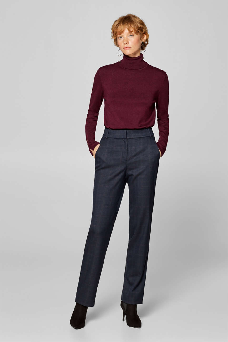 Esprit - GLENCHECK Mix + Match Stretch-Hose
