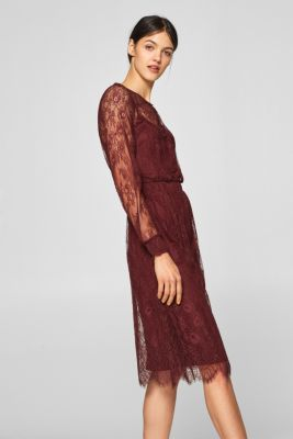 Esprit - Tvådelad spetsklänning i Esprits Online-Shop 116de2dff1b2d