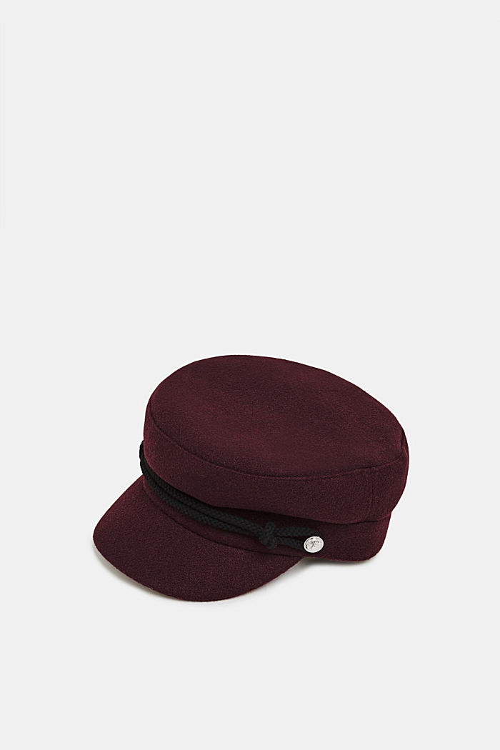 Wool-effect sailor's cap