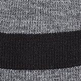 Striped beanie, MEDIUM GREY, swatch