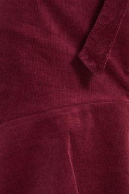 Fine needlecord mini skirt, stretch cotton