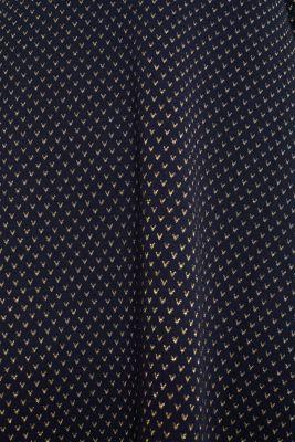 Glittering stretch jersey dress