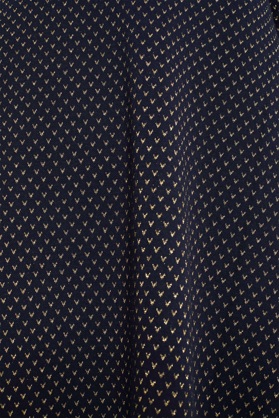 Glittering stretch jersey dress, NAVY, detail image number 4