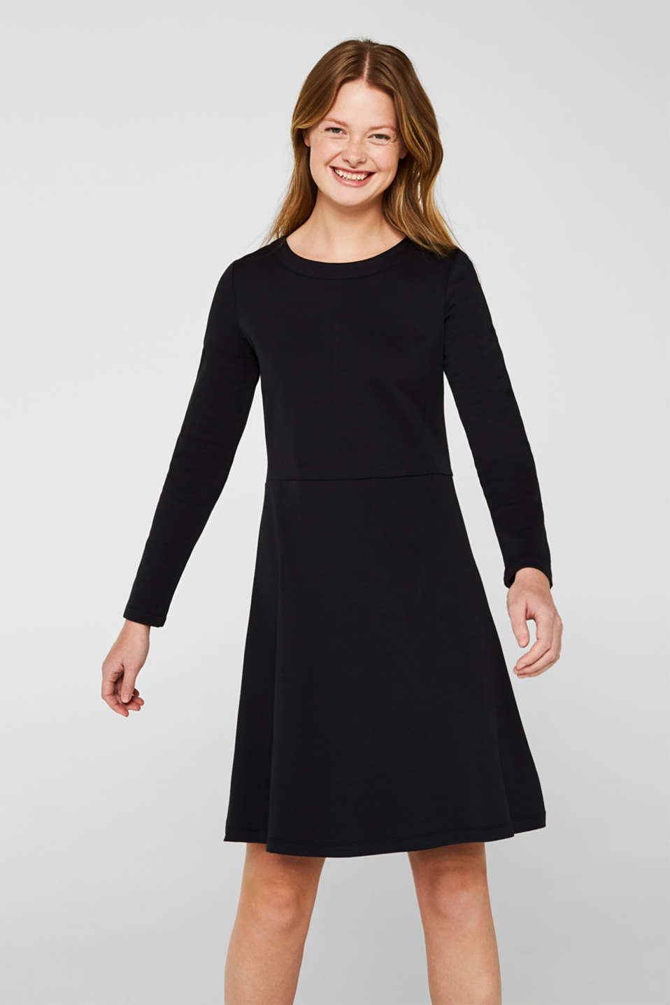 edc - Textured stretch jersey dress