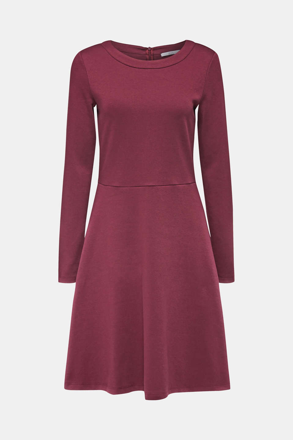 Dresses knitted, BORDEAUX RED, detail image number 6