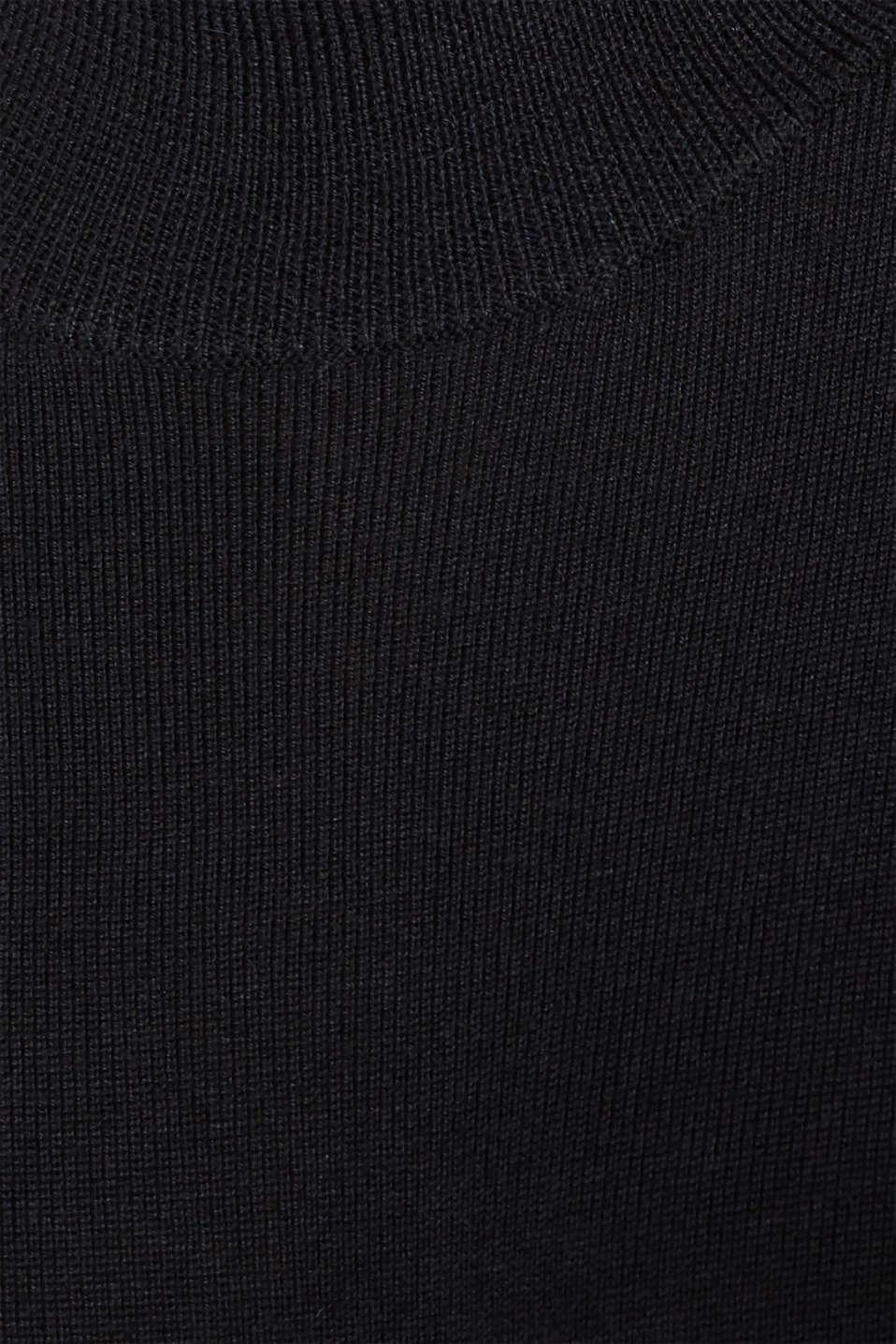 Dresses flat knitted, BLACK, detail image number 4