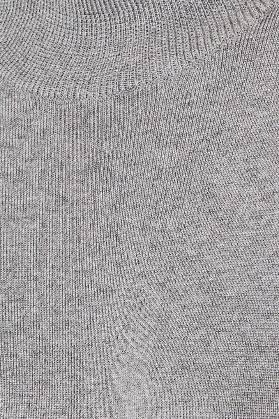 Dress made of a fine knit, recycled, GUNMETAL 5, detail image number 4