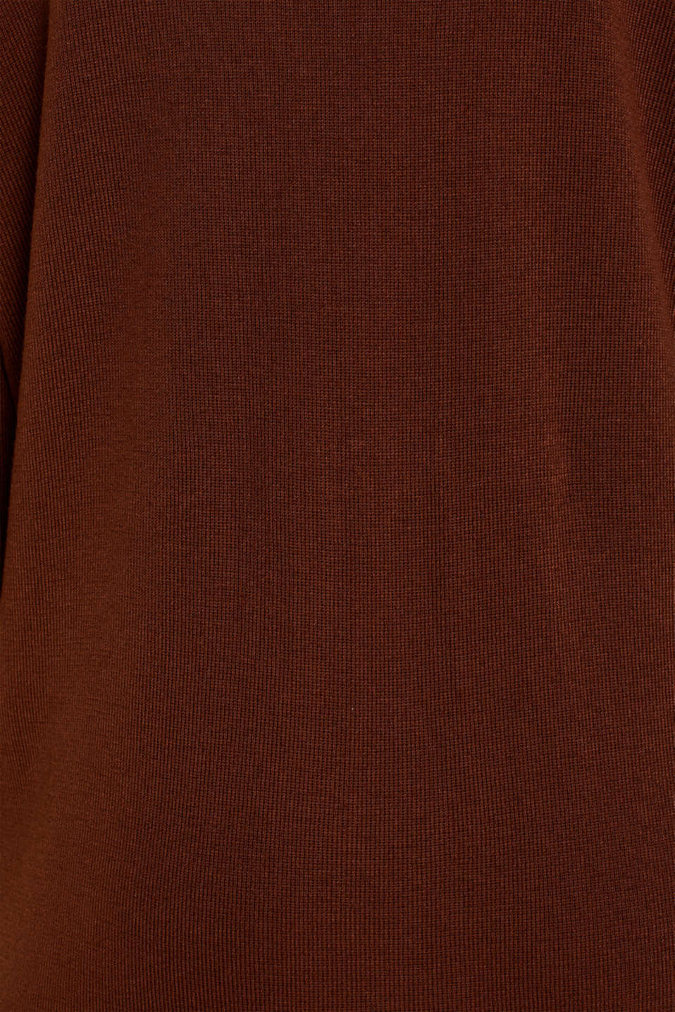 Dress made of a fine knit, recycled, DARK BROWN, detail image number 4