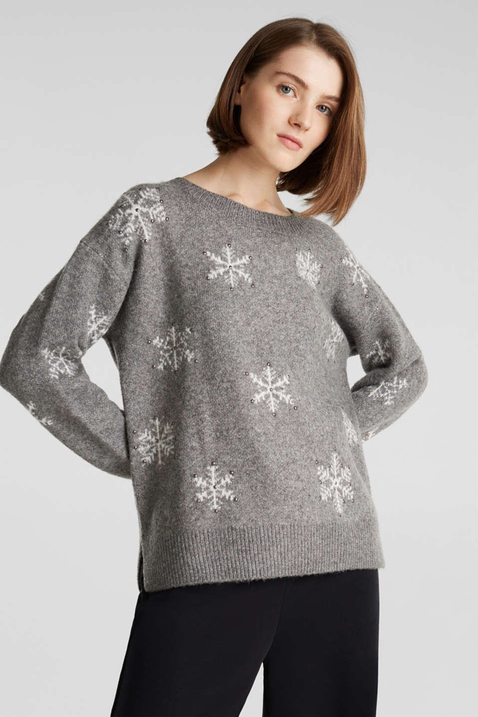 edc - With wool: X-mas intarsia jumper